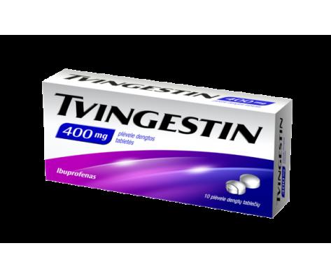 TVINGESTIN (IBUPROFEN PHS) plėvele dengtos 400mg,10 tab.