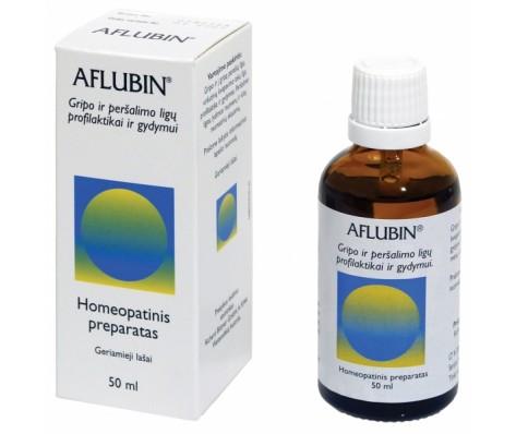 AFLUBIN geriamieji lašai (tirpalas), 50ml