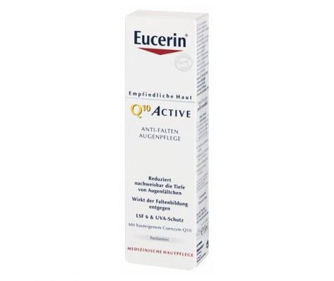 Paakių kremas nuo raukšlių jautriai odai EUCERIN Q10 ACTIVE 15 ml