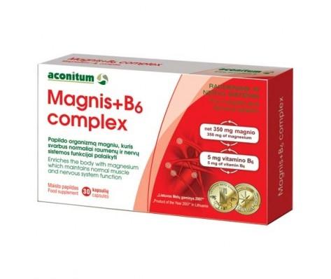 MAGNIS+B6 COMPLEX 30 caps.