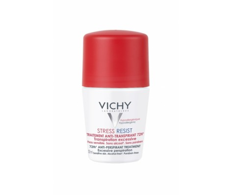 Antiperspirantas gausiam prakaitavimui VICHY STRESS RESIST, 50 ml