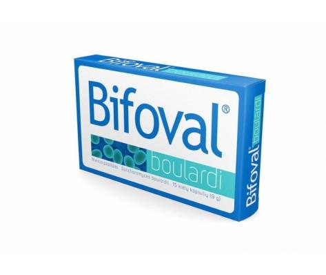 BIFOVAL BOULARDI, 15 kapsulių