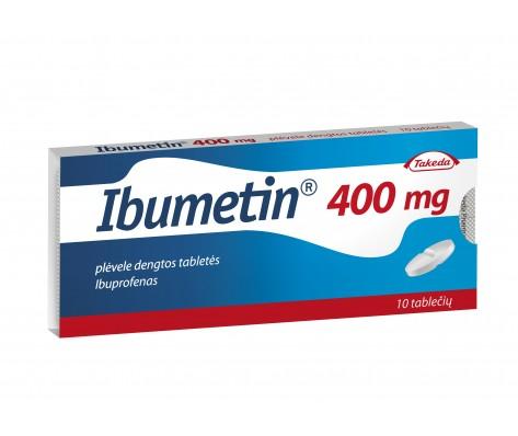IBUMETIN, 400 mg, 10 tabl.