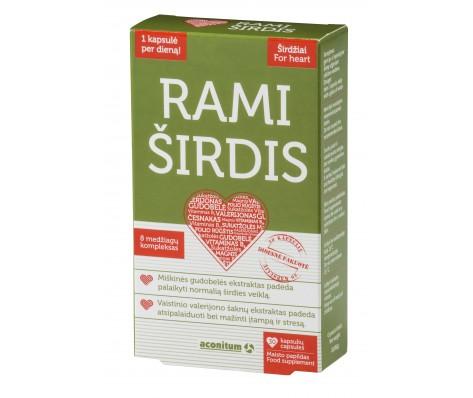 Maisto papildas RAMI ŠIRDIS, 30kaps.