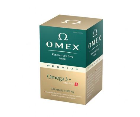 OMEX PREMIUM OMEGA 3, 60 kaps.
