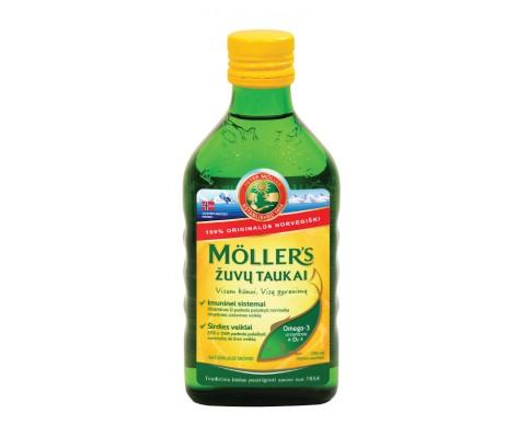 Skysti žuvų taukai MOLLERS natūralūs, 250 ml