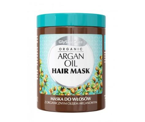 Plaukų kaukė GLYSKINCARE su argano aliejumi ,300ml