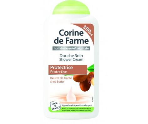 Dušo kremas CORINE DE FARME apsauginis su sviestmedžiu 300ml