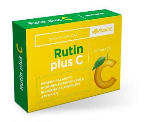 RUTIN PLIUS C VIVAVIT, 60 tabl.