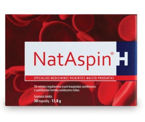 NATASPIN H 30 kapsulių